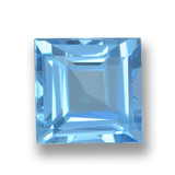 thumb image of 2.2ct Square Step-Cut Sky Blue Topaz (ID: 461598)