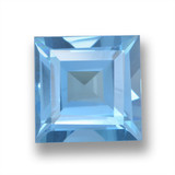 thumb image of 2.1ct Square Step-Cut Sky Blue Topaz (ID: 461599)