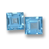thumb image of 4ct Square Step-Cut Sky Blue Topaz (ID: 461657)