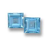 thumb image of 3.2ct Square Step-Cut Sky Blue Topaz (ID: 461659)