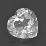 thumb image of 2.7ct Heart Facet White Topaz (ID: 462343)