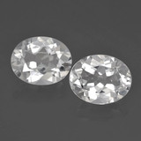 thumb image of 5.9ct Oval Facet White Topaz (ID: 462432)