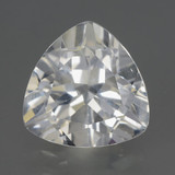 thumb image of 5.3ct Trillion Facet White Topaz (ID: 462762)
