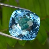 thumb image of 54.9ct Cushion Checkerboard Swiss Blue Topaz (ID: 467196)