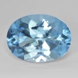 thumb image of 21ct Oval Facet Swiss Blue Topaz (ID: 476883)