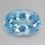 thumb image of 22.8ct Oval Facet Sky Blue Topaz (ID: 476887)