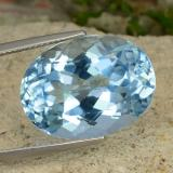 thumb image of 23.9ct Oval Facet Sky Blue Topaz (ID: 477013)