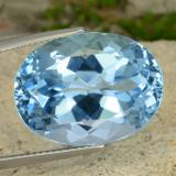 thumb image of 24.4ct Oval Facet Sky Blue Topaz (ID: 477014)