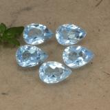 thumb image of 2.9ct Pear Facet Sky Blue Topaz (ID: 478328)
