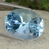 thumb image of 23.1ct Oval Facet Medium Blue Topaz (ID: 480018)