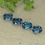 thumb image of 1ct Oval Facet Deep Navy Blue Topaz (ID: 480624)