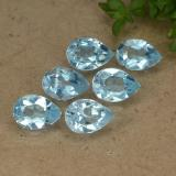 thumb image of 0.5ct Corte en forma de pera Medium Blue Topacio (ID: 488127)