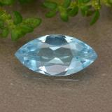 thumb image of 1.1ct Marquise Facet Sky Blue Topaz (ID: 489020)