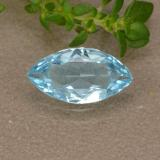 thumb image of 0.9ct Marquise Facet Sky Blue Topaz (ID: 489022)