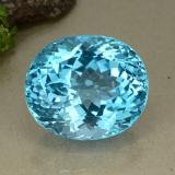 thumb image of 95.1ct Oval Facet Swiss Blue Topaz (ID: 498652)