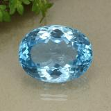 thumb image of 35.7ct Oval Facet Swiss Blue Topaz (ID: 498655)
