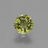 thumb image of 0.7ct Round Facet Golden Green Tourmaline (ID: 243992)