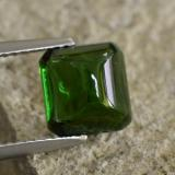 thumb image of 2.9ct Octagon Cabochon Green Tourmaline (ID: 260770)