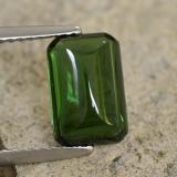 thumb image of 2.3ct Octagon Cabochon Green Tourmaline (ID: 260777)