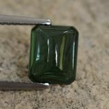 thumb image of 2.3ct Octagon Cabochon Blue Green Tourmaline (ID: 260795)