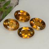thumb image of 0.5ct Oval Facet Medium Brown Tourmaline (ID: 379291)