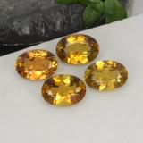 thumb image of 0.7ct Oval Facet Brownish Golden Tourmaline (ID: 379298)