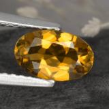 thumb image of 1ct Oval Facet Yellow Golden Tourmaline (ID: 379486)