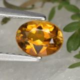 thumb image of 0.7ct Oval Facet Yellow Golden Tourmaline (ID: 379487)