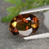 thumb image of 1ct Oval Facet Golden Green Tourmaline (ID: 390127)