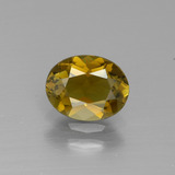 thumb image of 1ct Oval Facet Peanut Brown Tourmaline (ID: 390130)