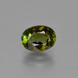 thumb image of 1.2ct Oval Facet Gold Green Tourmaline (ID: 400987)