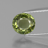 thumb image of 0.9ct Oval Facet Golden Green Tourmaline (ID: 401130)