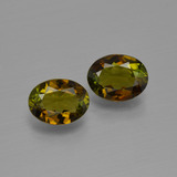 thumb image of 1.5ct Oval Facet Golden Brown Tourmaline (ID: 401605)