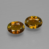 thumb image of 1.5ct Oval Facet Golden Brown Tourmaline (ID: 401607)