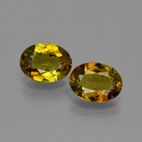 thumb image of 1.8ct Oval Facet Golden Brown Tourmaline (ID: 401608)