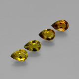 thumb image of 2.1ct Pear Facet Golden Brown Tourmaline (ID: 401647)