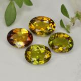 thumb image of 1.7ct Oval Facet Golden Brown Tourmaline (ID: 401654)