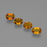 thumb image of 2.1ct Oval Facet Gold Brown Tourmaline (ID: 401658)