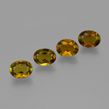 thumb image of 3.4ct Ovale facette Golden Brown Tourmaline (ID: 401880)