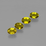 thumb image of 2.2ct Oval Facet Golden Brown Tourmaline (ID: 401884)