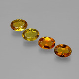 thumb image of 2.9ct Oval Facet Golden Brown Tourmaline (ID: 401885)
