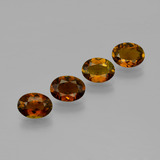 thumb image of 3.7ct Oval Facet Golden Brown Tourmaline (ID: 401886)