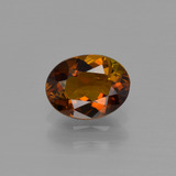 thumb image of 1ct Oval Facet Golden Brown Tourmaline (ID: 401939)