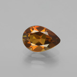 thumb image of 1ct Pear Facet Golden Orange Tourmaline (ID: 405942)