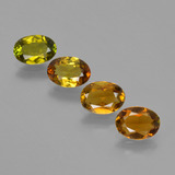 thumb image of 2.7ct Oval Facet Golden Green Tourmaline (ID: 406794)