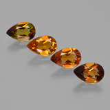 thumb image of 3.1ct Pear Facet Multicolor Tourmaline (ID: 406800)