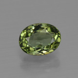thumb image of 1.2ct Oval Facet Green Tourmaline (ID: 413161)