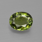 thumb image of 1.1ct Oval Facet Green Tourmaline (ID: 413269)