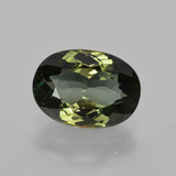 thumb image of 1.4ct Oval Facet Green Tourmaline (ID: 413300)