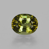thumb image of 1.1ct Oval Facet Golden Green Tourmaline (ID: 413324)